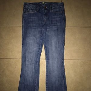 7 For All Mankind Bootcut Stretch Women's Jeans 27